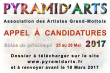 APPEL À CANDIDATURE SALON PYRAMID'ARTS